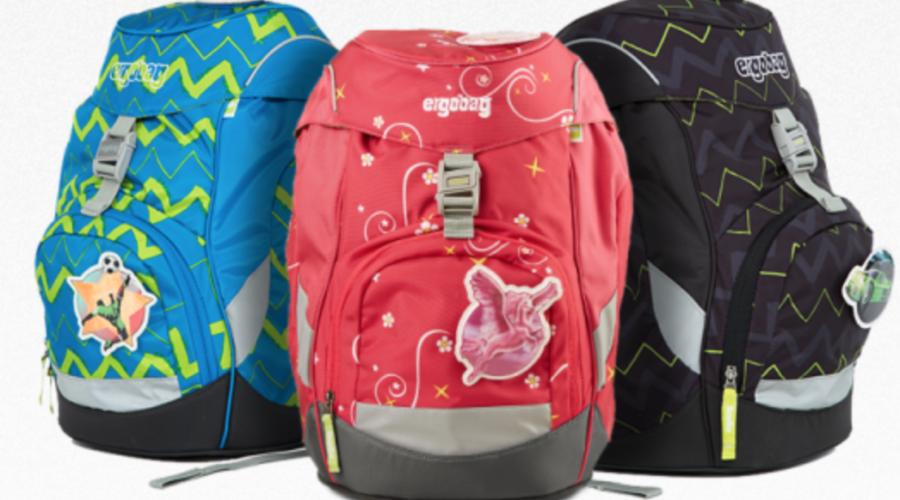 Ergobag skoletaske, ergobag skoletaker, klar til skolestart, ergonomisk skoletaske, bedst i test skoletaske, ergobag cubo skoletaske, ergobag prime skoletaske