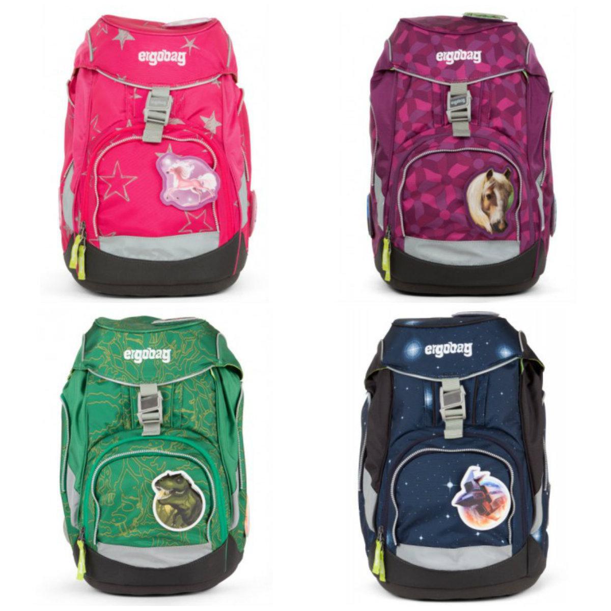 ergobag skoletaske ergonomisk skoletaske begynder skoletaske