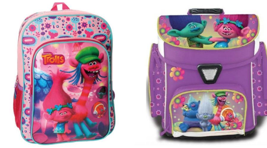 trolls skoletaske, trolls rygsæk, trolde rygsæk, trolde skoletaske, trolde penalhus, trolls penalhus, trolls skoleudstyr, klar til skolestart