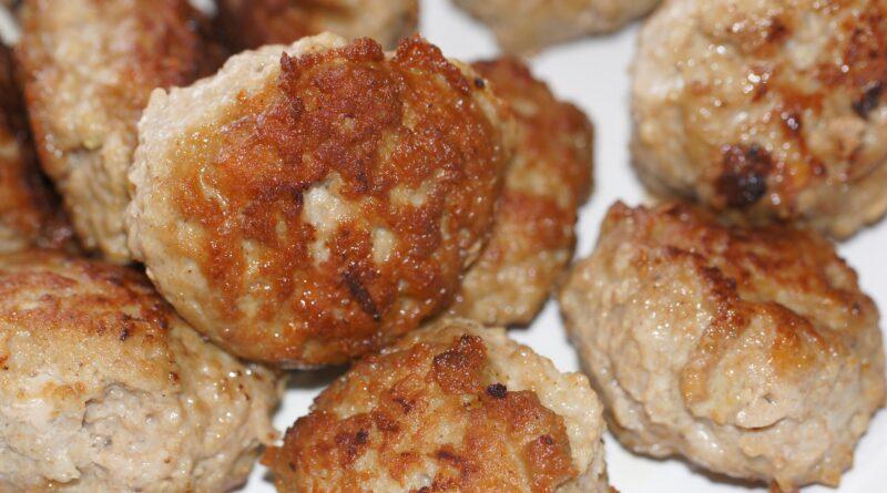 minifrikadeller med kylling, frikadeller med kylling, inspiration til madpakken,