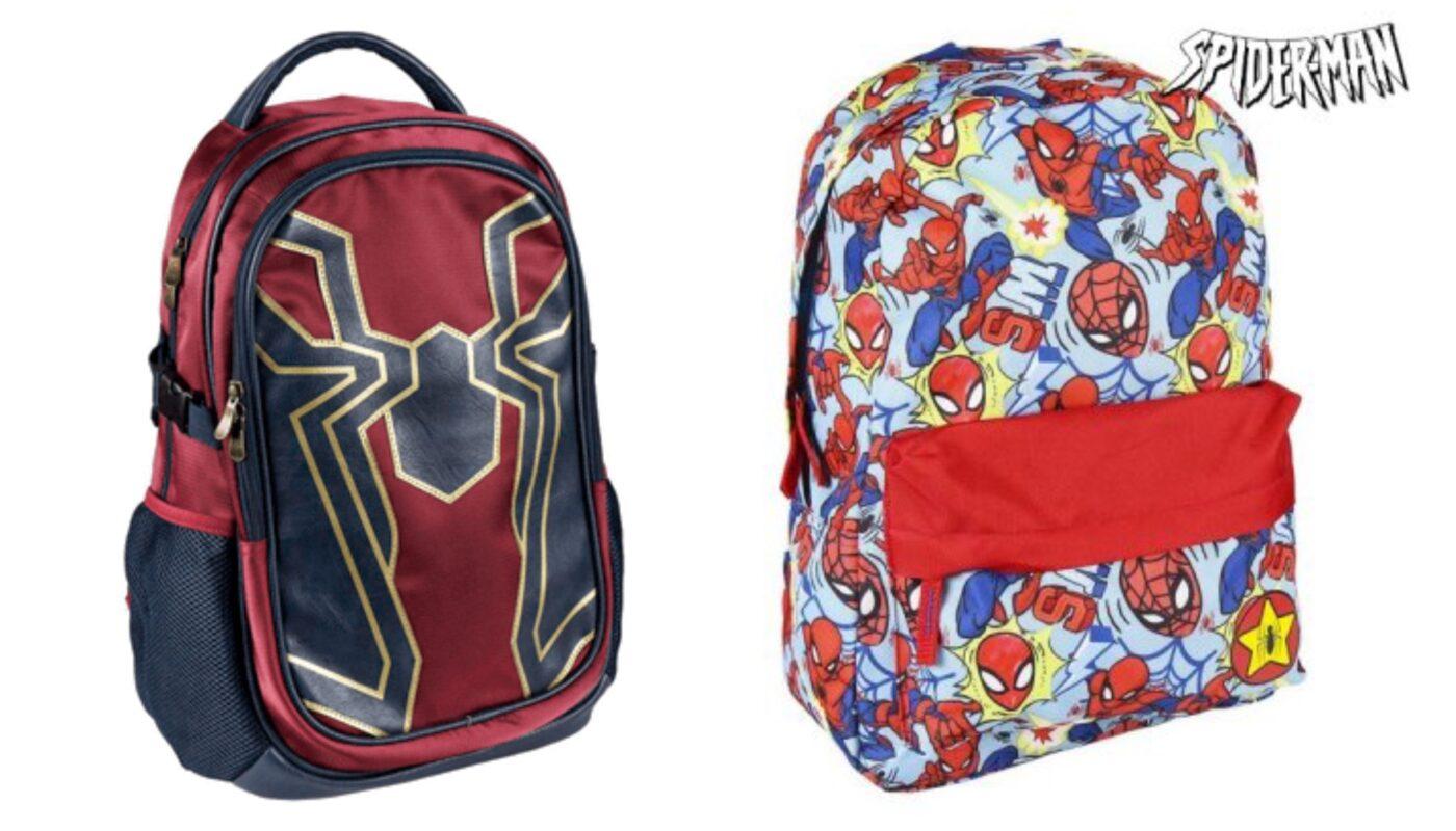spiderman skoletaske, spiderman skoletasker, spiderman skoletaskesæt, spiderman skoleudstyr, spiderman, skoletaske med spiderman, klar til skolestart