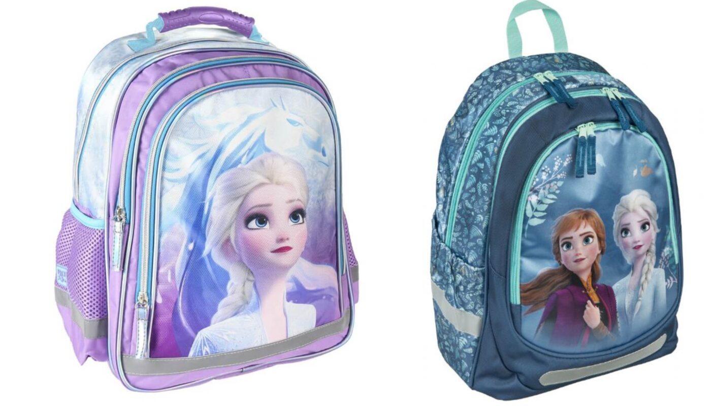 frost skoletasker, frost 2 skoletasker, disney frost skoletaske 2021, disney frozen 2 skoletaske, frozen skoletasker, skoletasker med elsa motiv, skoletasker med frost motiv