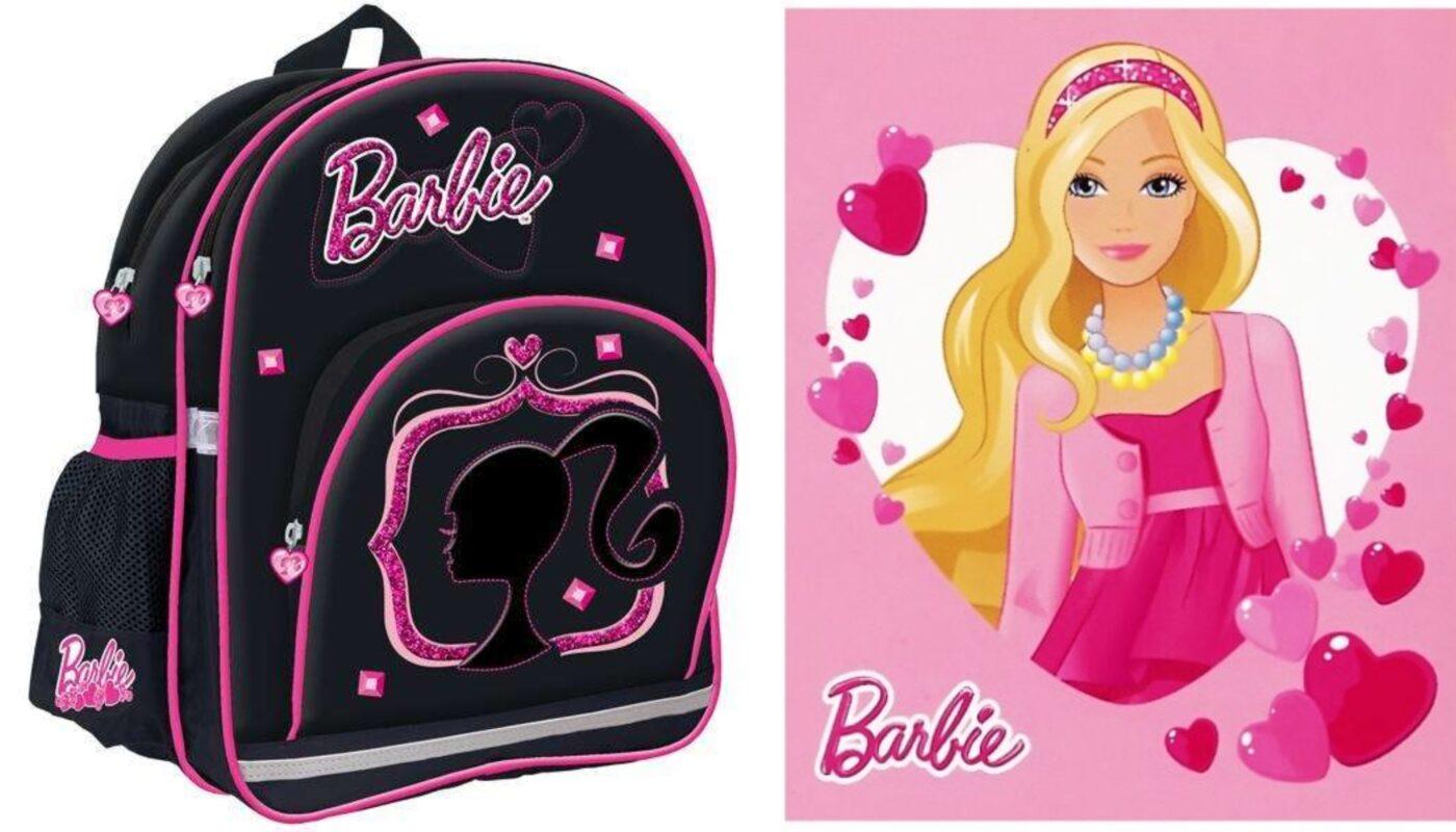 barbie skoletaske, skoletaske med barbie, barbie rygsæk