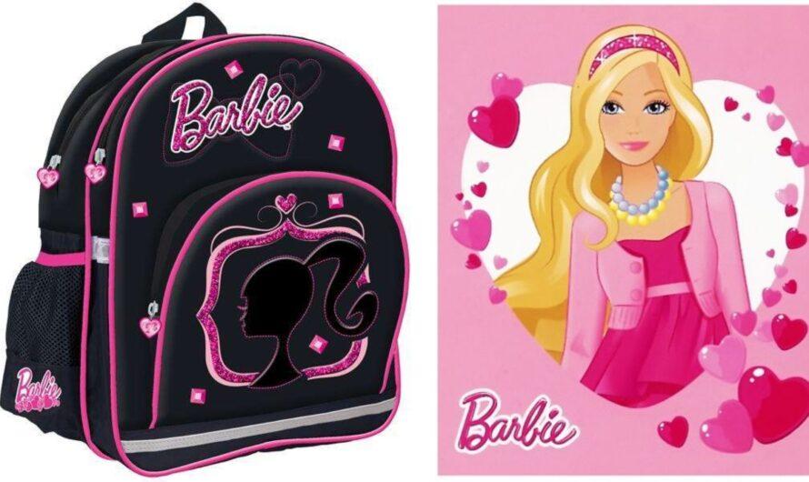 Barbie skoletaske og penalhus