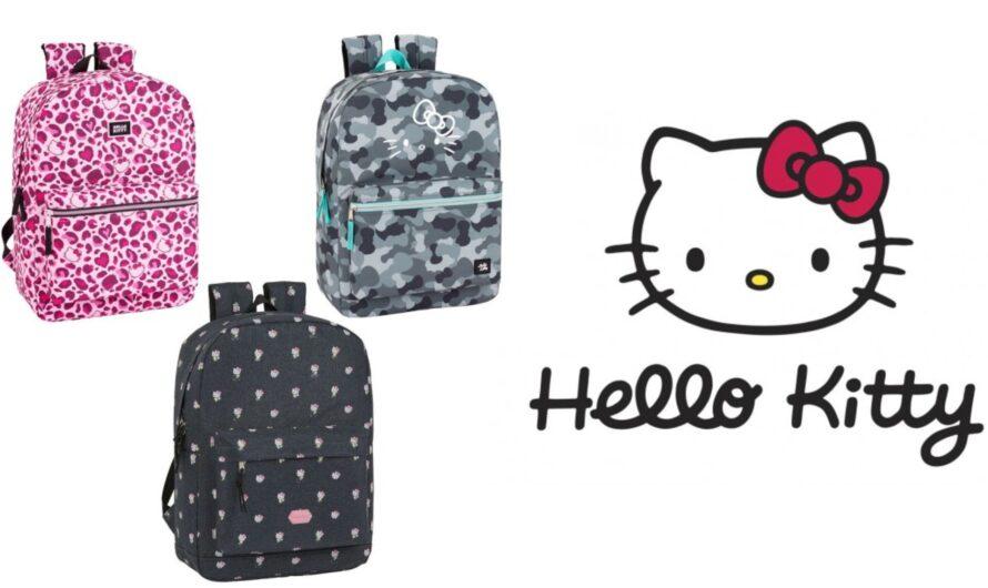Hello Kitty skoletaske og rygsæk