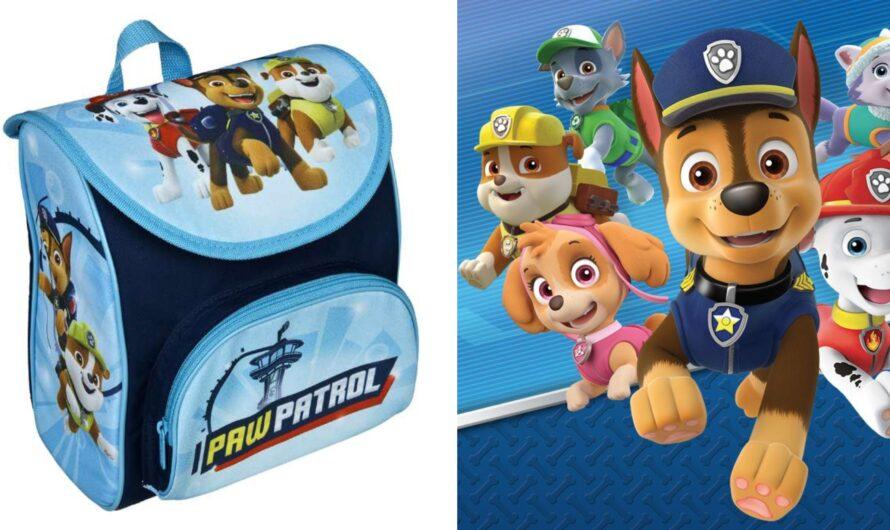 Paw Patrol skoletaske og penalhus
