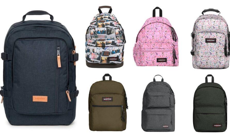 Eastpak skoletasker til større børn og studiebrug