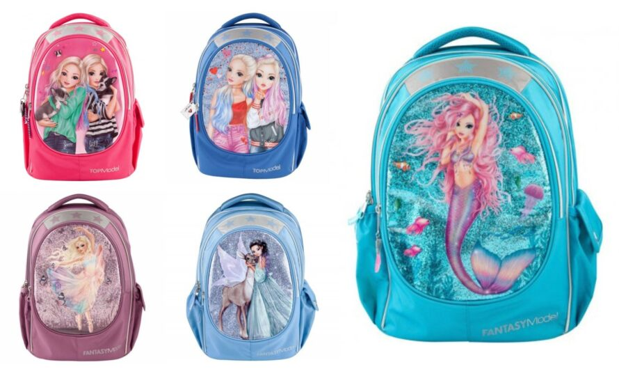 Top Model skoletasker 1. til 4. klasse