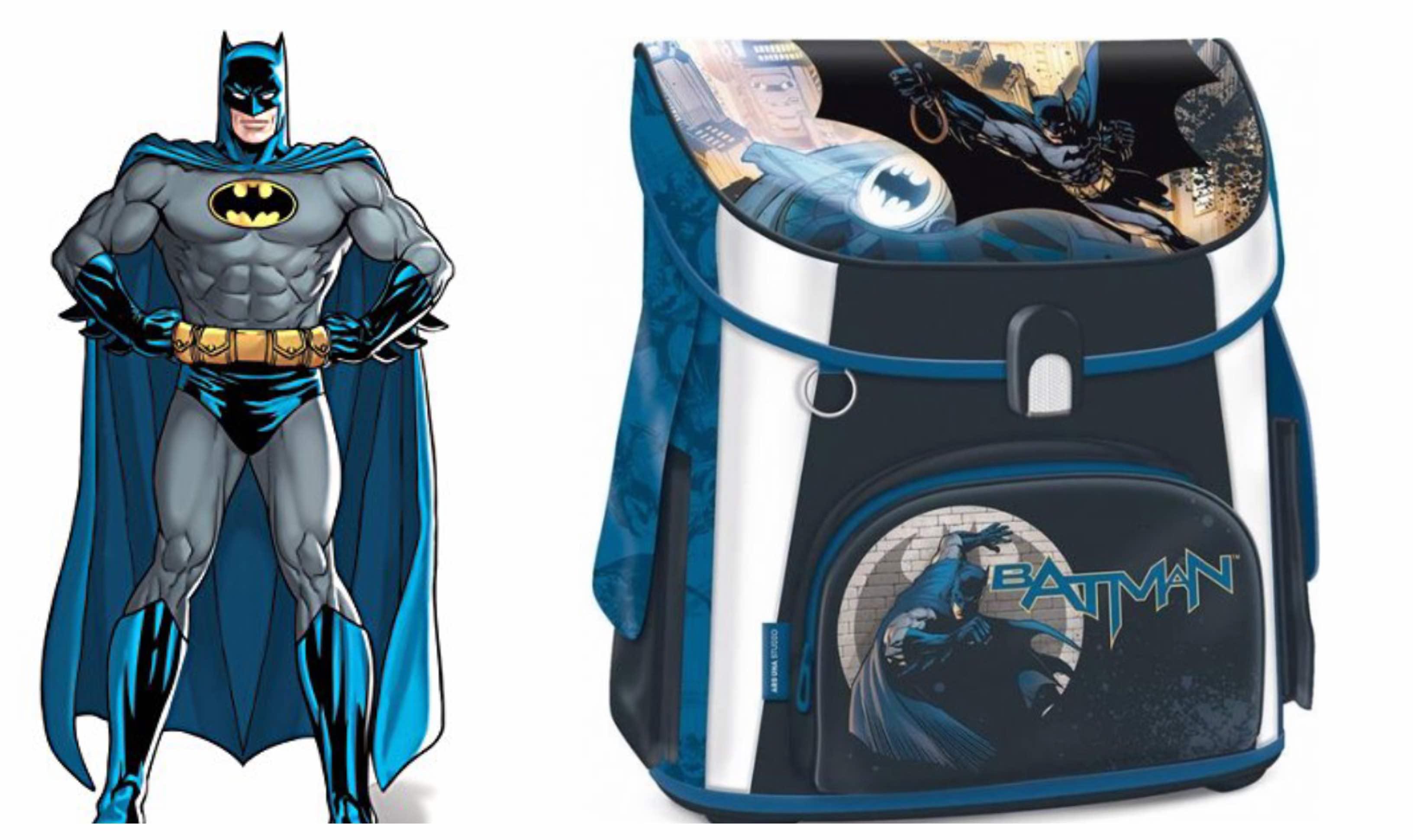 Batman skoletaske