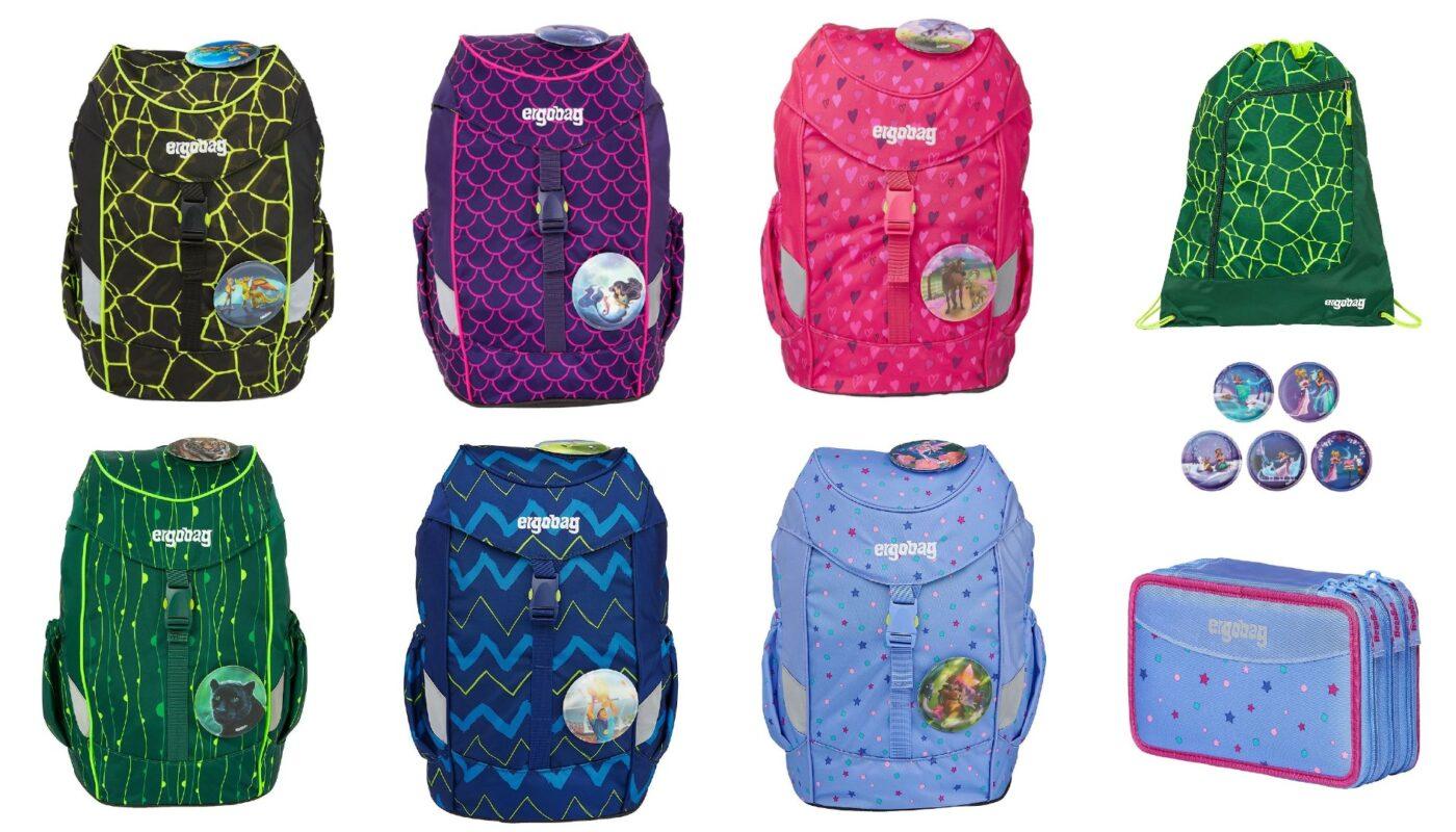 Ergobag skoletasker til skolestart 2021, ergobag begynder skoletaske, begynder skoletasker 2021, ergonomisk skoletaske til skolestart, skoletaske med justerbar rygpanel, skoletaske med fast bund, ergobag penalhus med 3 lynlåse