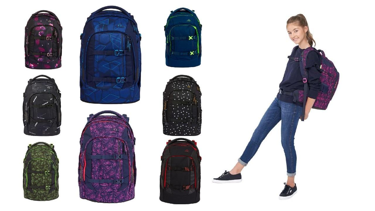 satch pack skoletaske 2021 skoletaske til større børn satch pack rygsæk til skolebrug satch skoletasker ergnomisk skoletaske til større børn