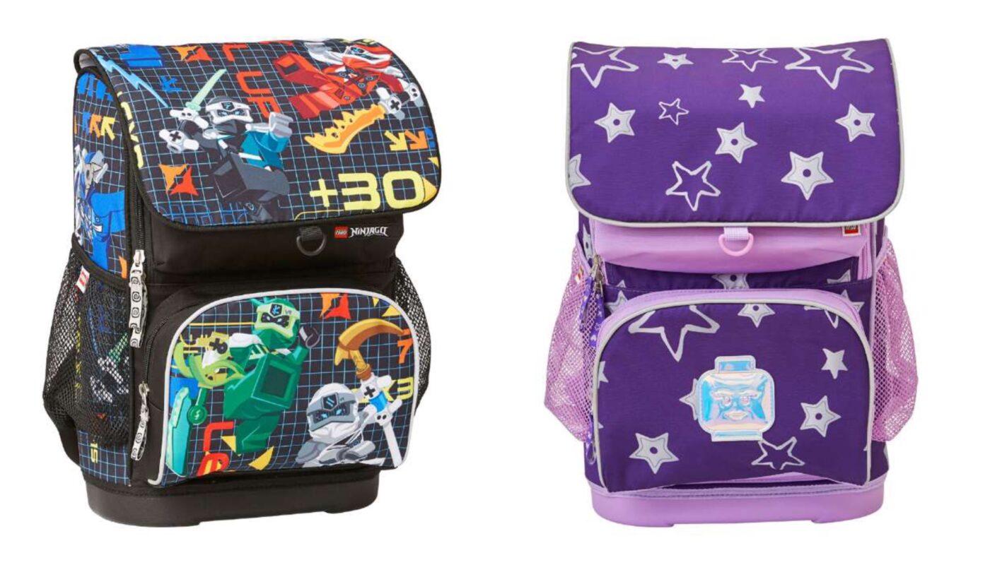 lego begynder skoletaske 2021, lego begynder skoletasker til drenge, lego begynder skoletasker til piger, lego skoletasker til skolestart, lego skoletasker 2021