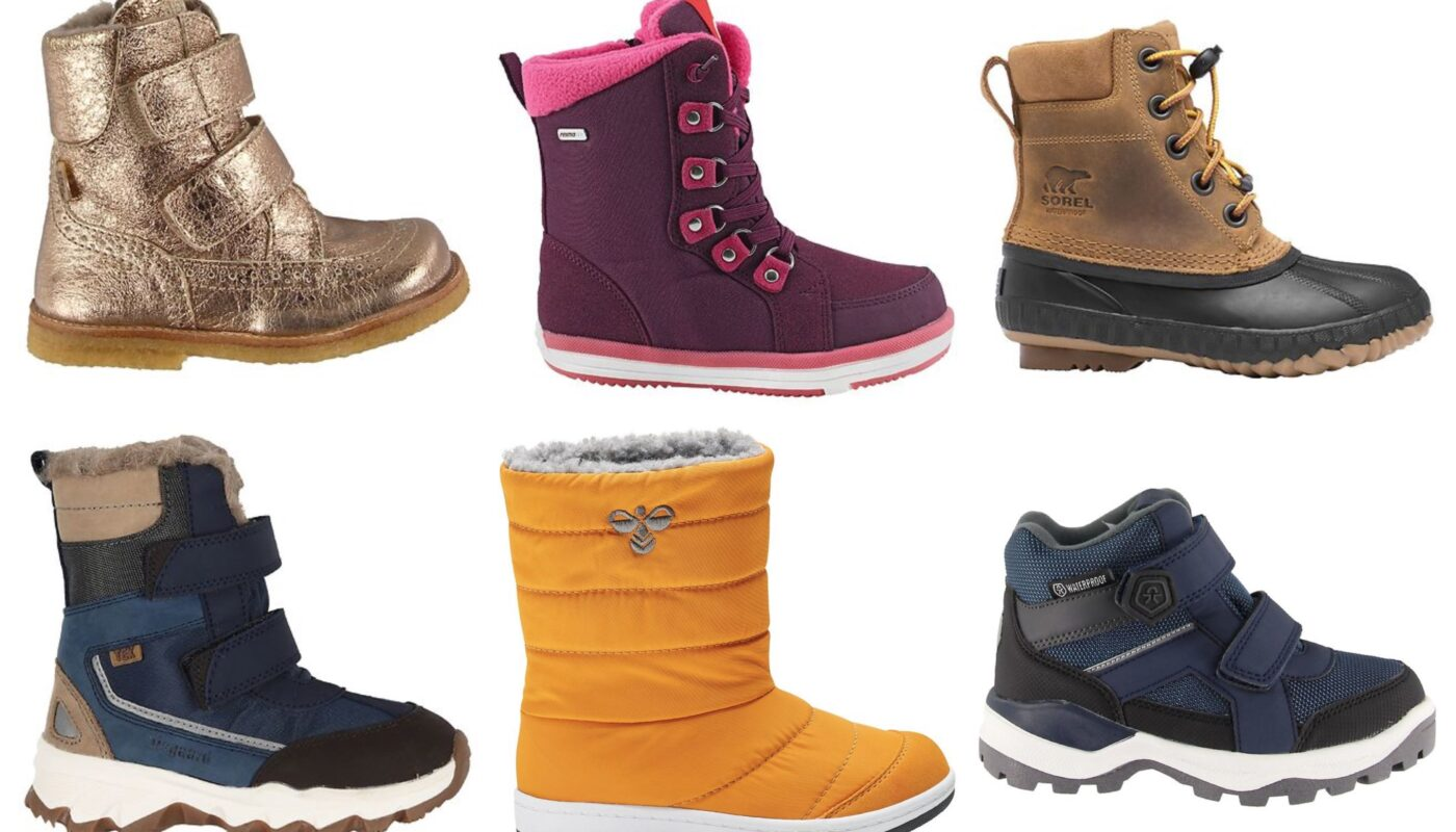 guide til vinterstøvler, vinterstøvler til børn, vinterstøvler til drenge, vinterstøvler til piger