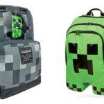 Minecraft skoletaske og rygsæk