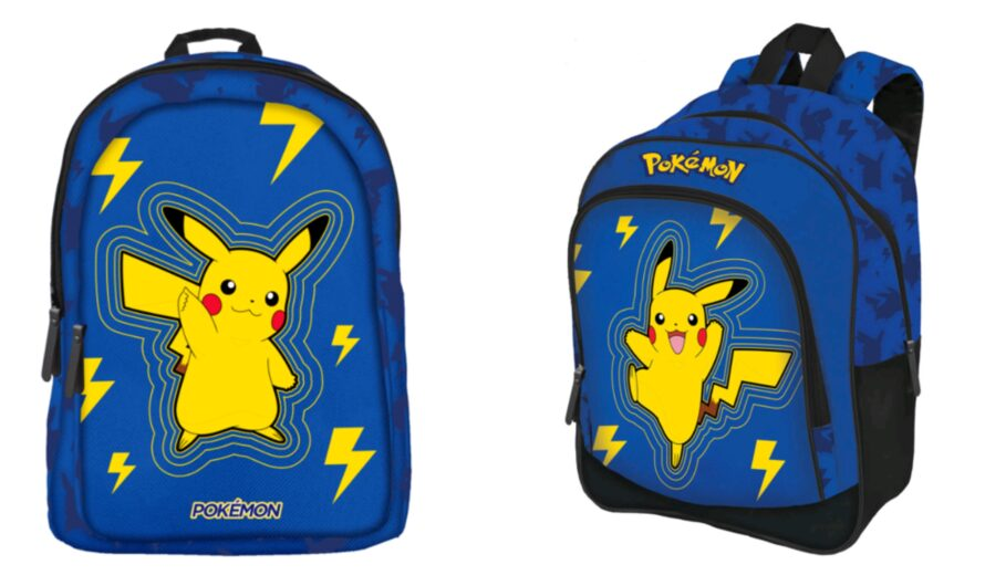 Pokemon skoletaske og penalhus