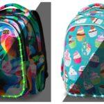 Coolpack skoletaske med LED lys