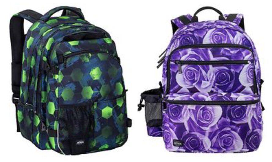 Jeva skoletaske fra 2. klasse og opefter.