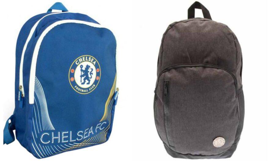 Chelsea skoletaske og rygsæk