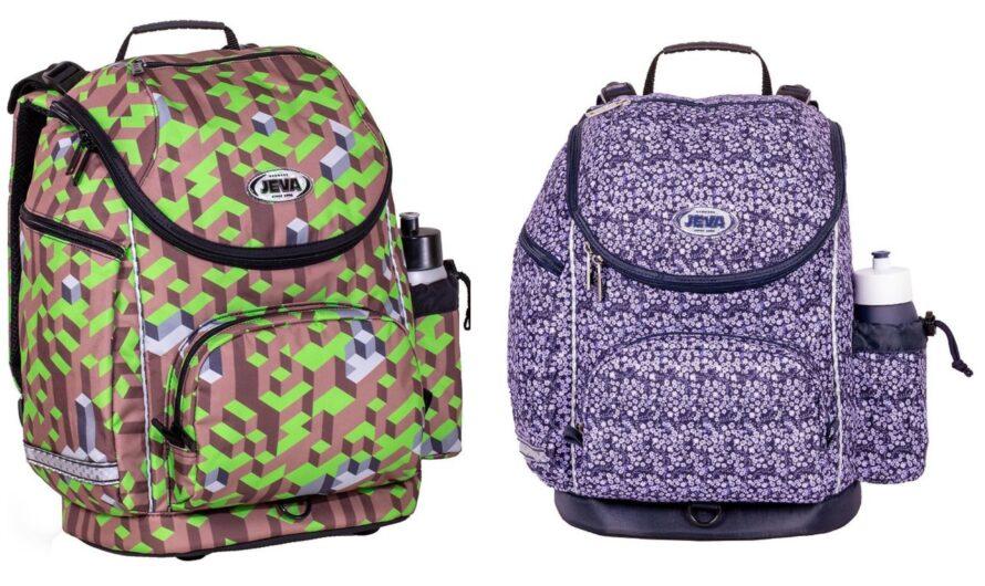JEVA U-turn skoletaske – fra 1.klasse til 4. klasse