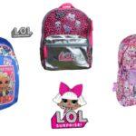 LOL Surprise skoletaske og rygsæk
