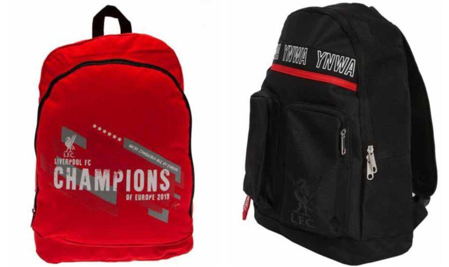 Liverpool skoletaske og rygsæk