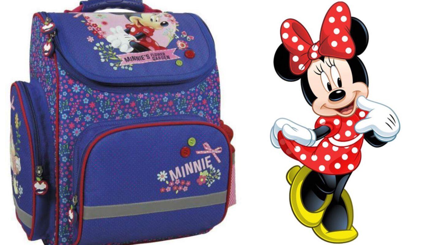Minnie mouse skoletaske, minnie mouse rygsæk, minnie mouse taske, minnie mouse skoletaske til skolestart, skoletaske med minnie Mouse, disney skoletasker
