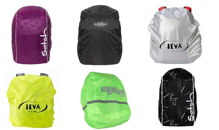 Regnslag til skoletaske og rygsæk