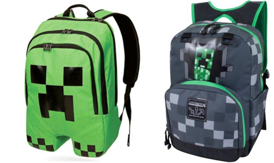 Gamer skoletaske