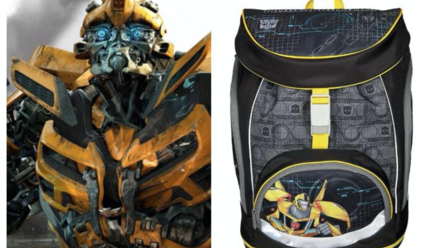 transformers skoletaske, skoletaske med transformers motiv, transformers skoletasker, transformers skoletaskesæt