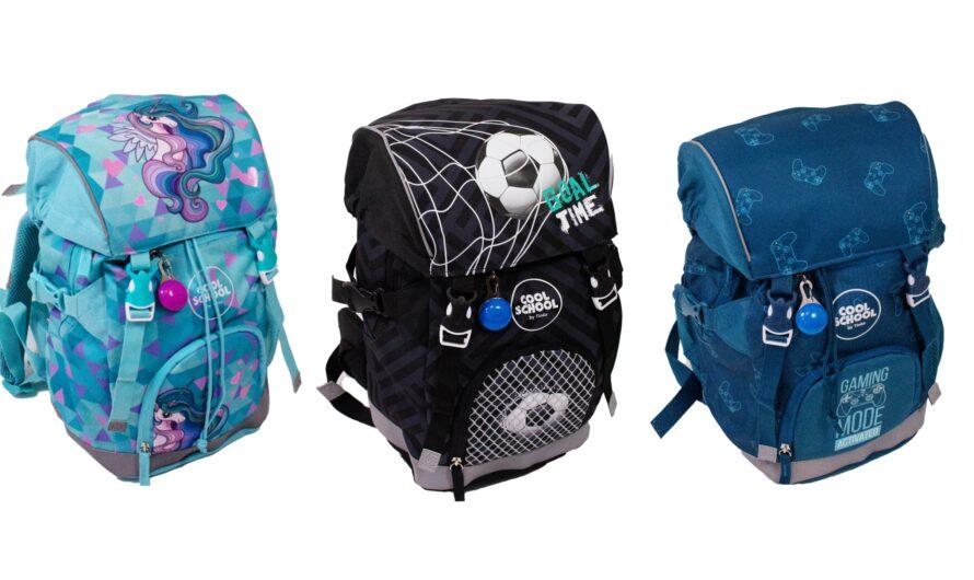 Tinka skoletasker til de første skoleår