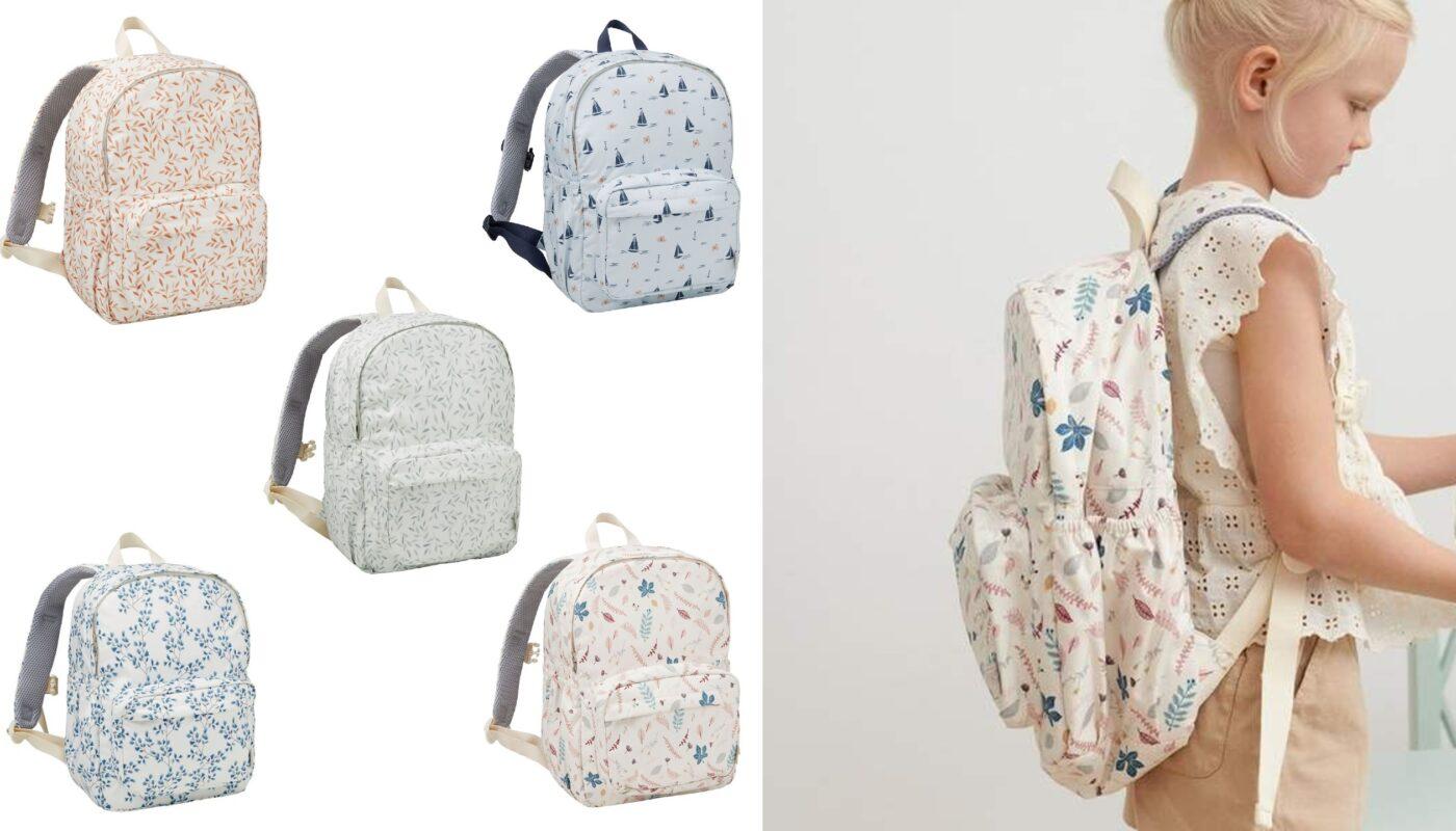 Cam Cam copenhagen skoletasker til piger, begynder skoletasker til piger, cam cam begynderskoletaske til piger 2021, rygsæk til skolestart