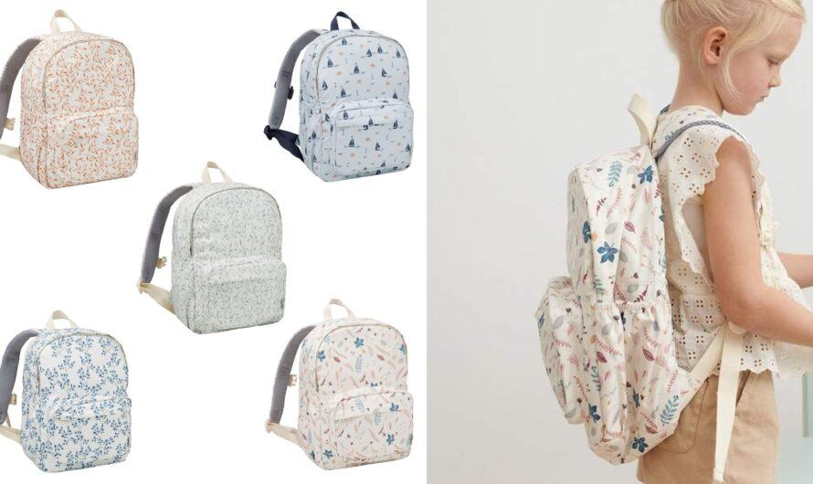 Cam Cam Copenhagen skoletasker til piger 0.-3. klasse